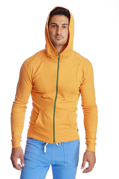 Crossover Hoodie (Sun Orange) Mens Hoodies 4-rth