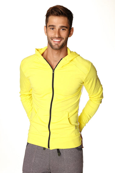 Crossover Hoodie (Tropic Yellow w/White) Mens Hoodies 4-rth