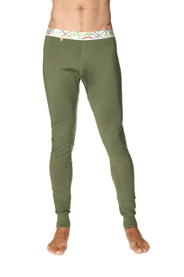 Crosstrain Thermal Yoga Pant (Rainforest Green) Mens Pants 4-rth