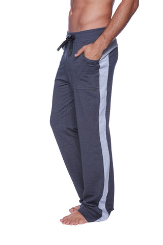 Eco-Track Pant (Charcoal w/Grey) Mens Pants 4-rth