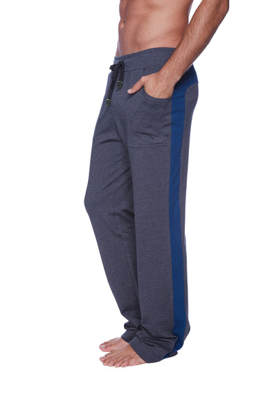 Eco-Track Pant (Charcoal w/Royal Blue) Mens Pants 4-rth