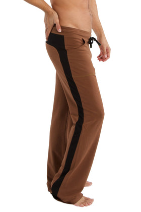 Eco-Track Pant (Chocolate w/Black) Mens Pants 4-rth