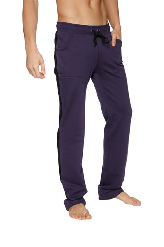 Eco-Track Pant (Eggplant w/Black) Mens Pants 4-rth