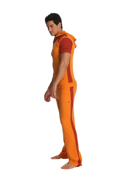 Eco-Track Pant (Orange w/Cinnabar) Mens Pants 4-rth