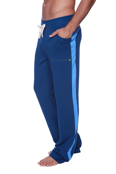 Eco-Track Pant (Royal Blue w/Ice Blue) Mens Pants 4-rth