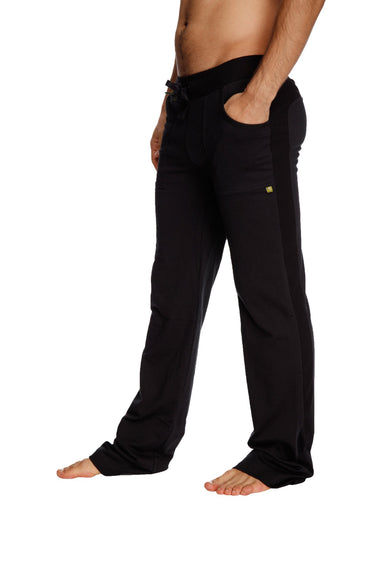 Eco-Track Pant (Solid Black) Mens Pants 4-rth