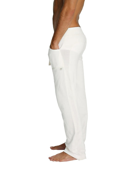 Eco-Track Pant (White) Mens Pants 4-rth