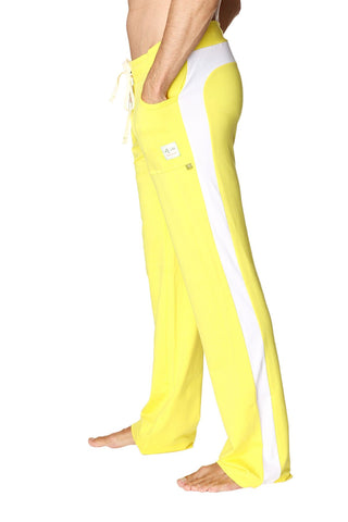 Eco-Track Pant (Yellow w/White) Mens Pants 4-rth