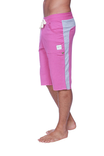 Eco-Track Short (Berry w/Grey) Mens Shorts 4-rth