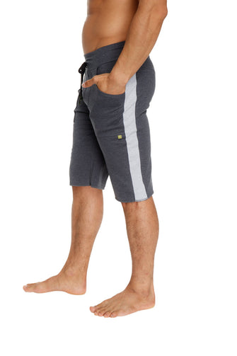 Eco-Track Short (Charcoal w/Grey) Mens Shorts 4-rth