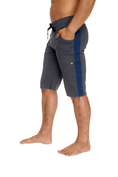 Eco-Track Short (Charcoal w/Royal Blue) Mens Shorts 4-rth