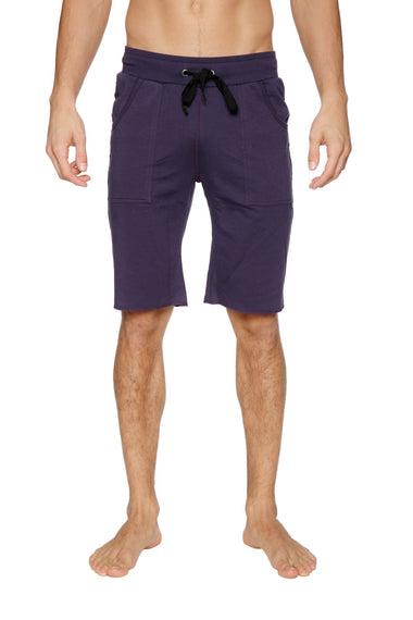 Eco-Track Short (Eggplant w/Black) Mens Shorts 4-rth