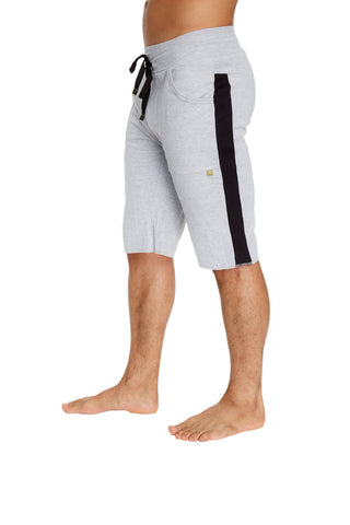 Eco-Track Short (Heather Grey w/Black) Mens Shorts 4-rth