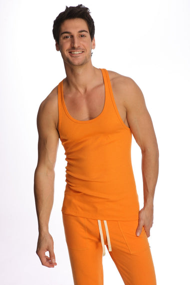 Eco-Track Short (Orange w/Cinnabar) Mens Shorts 4-rth