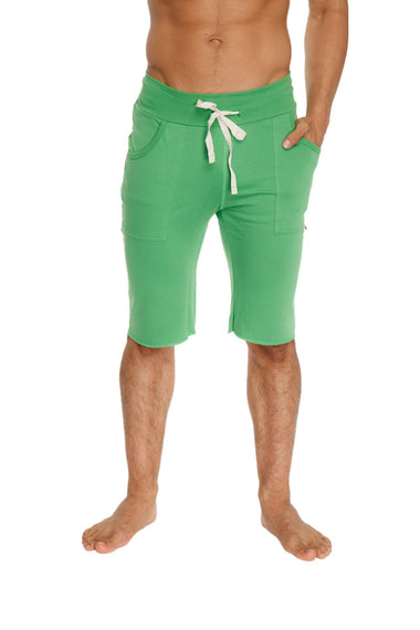 Eco-Track Short (Solid Bamboo Green) Mens Shorts 4-rth
