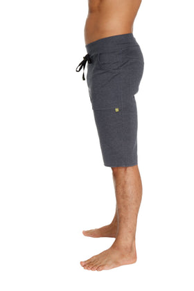 Eco-Track Short (Solid Charcoal) Mens Shorts 4-rth