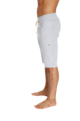 Eco-Track Short (Solid Heather Grey) Mens Shorts 4-rth