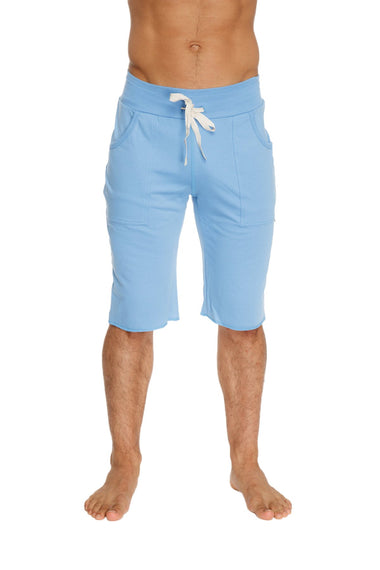 Eco-Track Short (Solid Ice Blue) Mens Shorts 4-rth