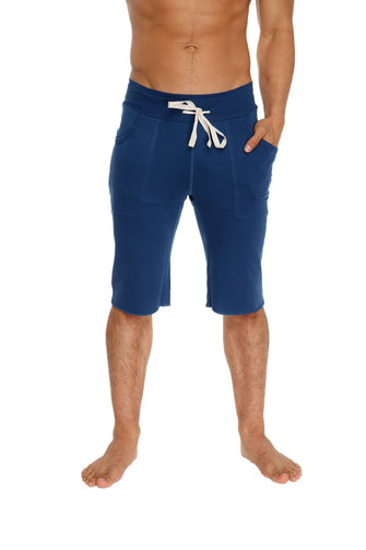 Eco-Track Short (Solid Royal Blue) Mens Shorts 4-rth