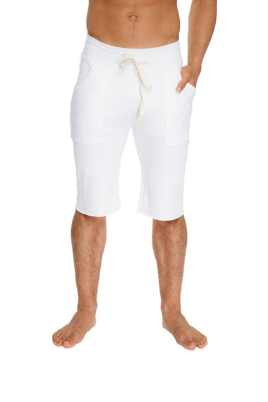 Eco-Track Short (White) Mens Shorts 4-rth