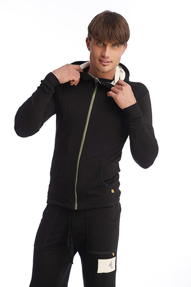 Edge Crossover Hoodie (Black) Edge Hoodies 4-rth