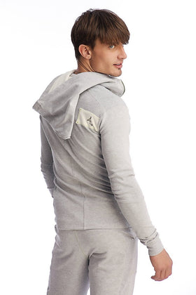 Edge Crossover Hoodie (Heather Grey) Edge Hoodies 4-rth