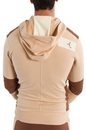 Edge Crossover Hoodie (Sand w/Chocolate) Edge Hoodies 4-rth