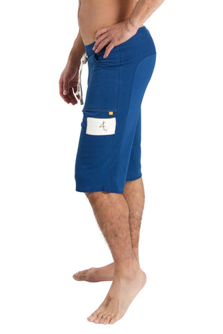 Edge Eco-Track Short (Royal Blue) Edge Shorts 4-rth