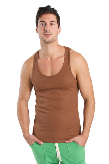 Edge Sustain Tank Top (Chocolate) Edge Tanks 4-rth