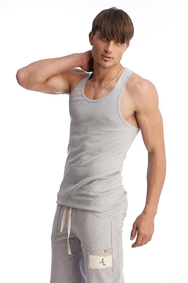 Edge Sustain Tank Top (Heather Grey) Edge Tanks 4-rth