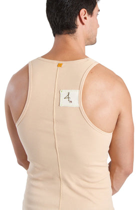 Edge Sustain Tank Top (Sand Beige) Edge Tanks 4-rth