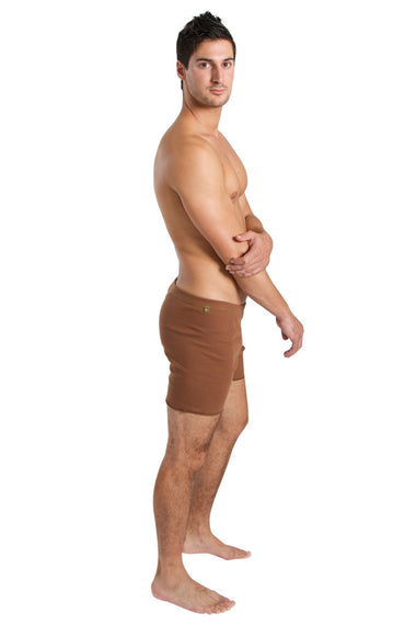 Fusion Yoga Short (Chocolate) Short Shorts 4-rth