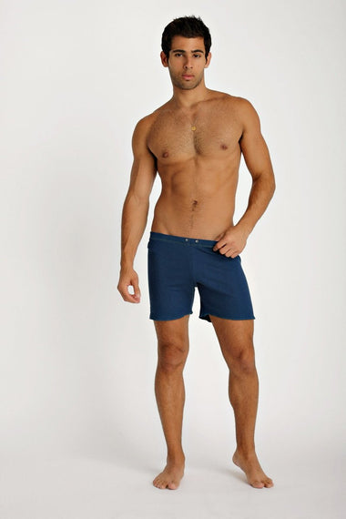 Fusion Yoga Short (Royal Blue) Short Shorts 4-rth