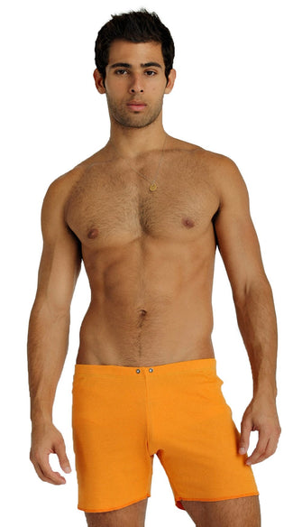 Fusion Yoga Short (Sun Orange) Short Shorts 4-rth