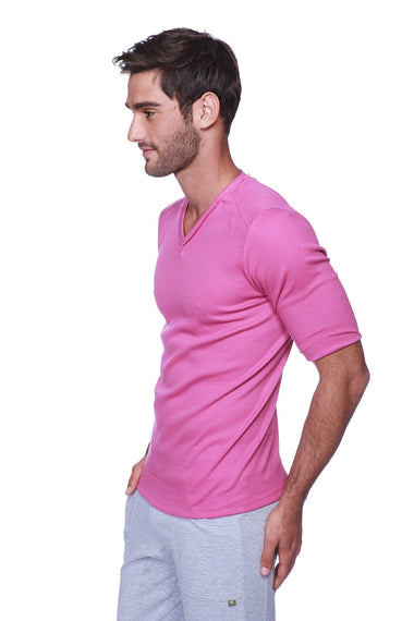 Hybrid V-Neck (Berry) Mens Tops 4-rth
