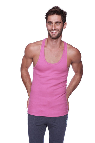 Racerback Yoga Tank Top (Berry) Mens Tanks 4-rth