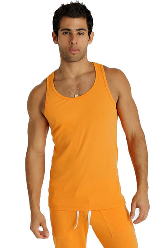 Sustain Tank (Sun Orange) Mens Tanks 4-rth