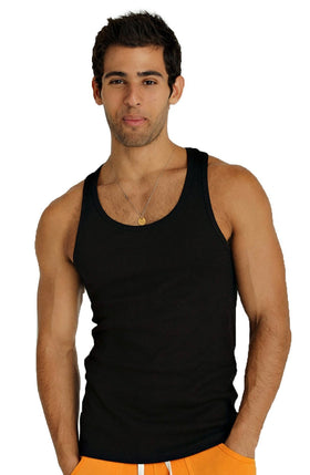 Sustain Tank Top (Black) Mens Tanks 4-rth