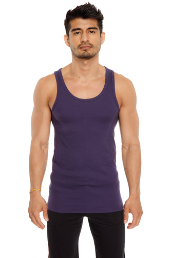 Sustain Tank Top (Eggplant Purple) Mens Tanks 4-rth