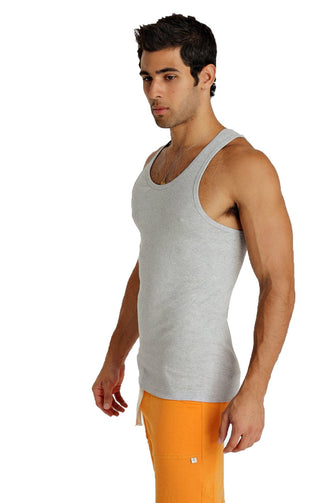 Sustain Tank Top (Heather Gray) Mens Tanks 4-rth