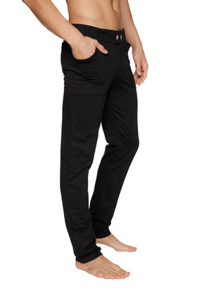 Tactical Urban Travel Dress Pant Yoga Pant (Black)