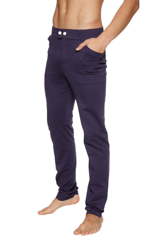 Tactical Urban Travel Dress Pant Yoga Pant (Eggplant)