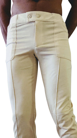 Tactical Urban Travel Dress Pant Yoga Pant (Sand Beige)