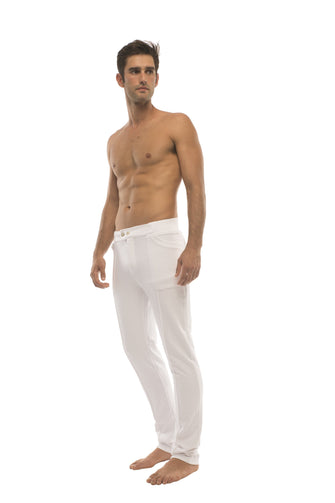 Tactical Urban Travel Dress Pant Yoga Pant (White)