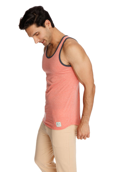 The Perfect Tank (Apricot Slub) Mens Tanks 4-rth