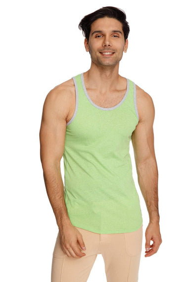 The Perfect Tank (Lime Slub) Mens Tanks 4-rth