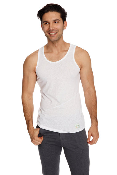 The Perfect Tank (White Slub) Mens Tanks 4-rth
