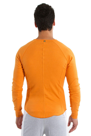 Thermal V-Neck Long Sleeve (Sun Orange) Mens Thermals 4-rth