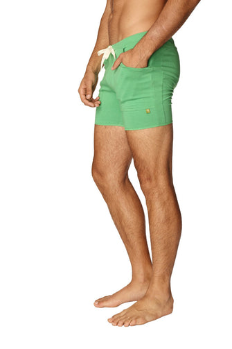 Transition Yoga Short (Bamboo Green) Short Shorts 4-rth