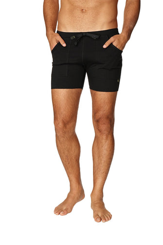 Transition Yoga Short (Black) Short Shorts 4-rth